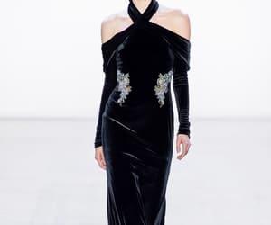 badgley mischka, fashion, and model image
