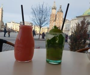 church, juice, and city image