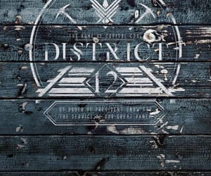 games, hunger, and district 12 image
