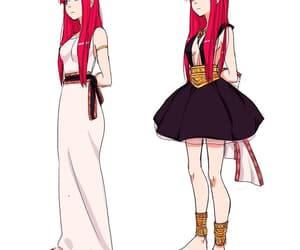 anime, anime girl, and magi image