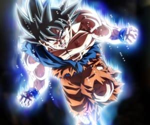 anime, dragonball, and ultra instinct image