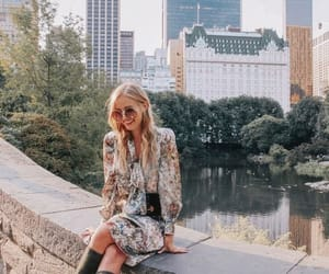 accessories, blonde, and buildings image
