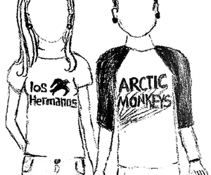 happy, arctic monkeys, and black and white image