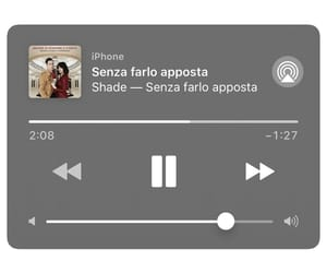 music, shade, and canzone image