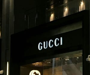 aesthetic, dark, and gucci image
