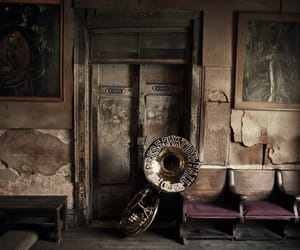jazz, new orleans, and tuba image