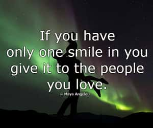 maya angelou, smile, and smile quotes image