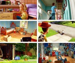 andy, pixar, and disney image