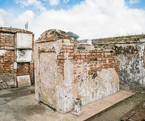 nola, cemetery, and new orleans image