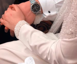 couples, holding hands, and wedding image