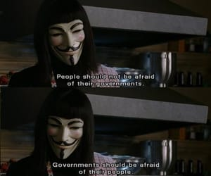 v for vendetta, government, and quotes image