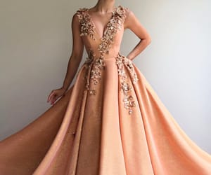 beautiful, dress, and style image