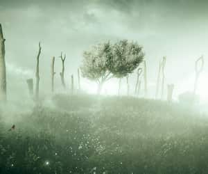 game, green, and tree image