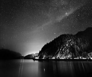 night, stars, and beautiful image
