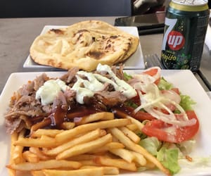 food, france, and kebab image