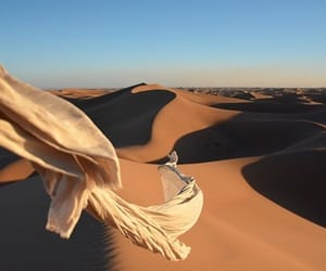 desert, photography, and sand image