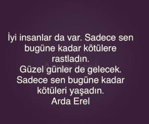 arda erel, türkçe, and söz image