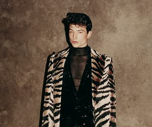 ezra miller, fashion, and Hot image