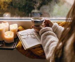 books, winter vibes, and likefairytales image