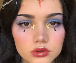 makeup, aesthetic, and girl image