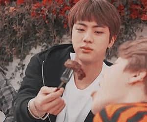 gif, seokjin, and jinmin image