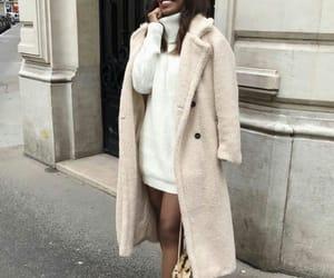 fashion, coat, and street style image