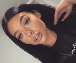 flawless, eyes eyebrows brows, and girl girls baddie image