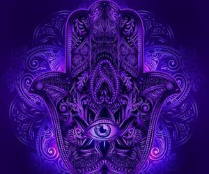 blue, eyeball, and purple image