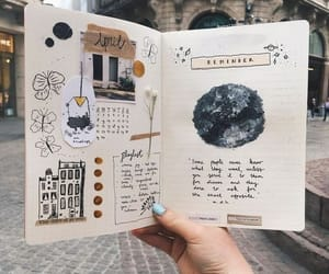 article, bullet journal, and bullet journal inspo image