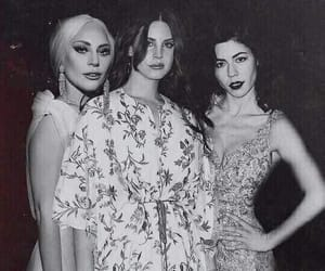 Lady gaga, marina and the diamonds, and lana del rey image