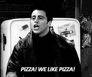gif, Joey, and pizza image