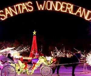christmas, lights, and Texas image