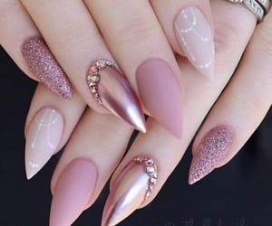 nails, pink, and wow image
