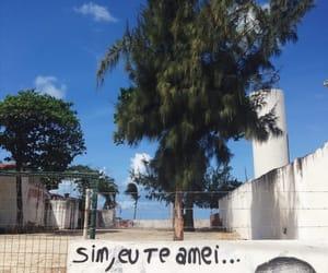 brasil, mar, and pichaçao image