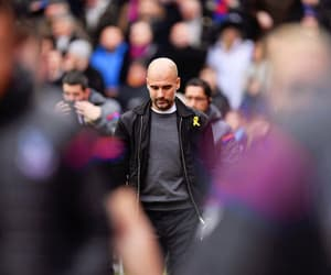 football, manchester city, and pep guardiola image