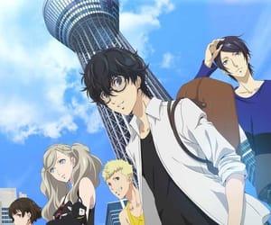 anime, persona 5, and anime boys image