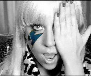 Lady gaga and just dance image