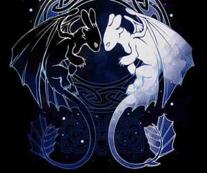 dibujo, mal, and dragón image