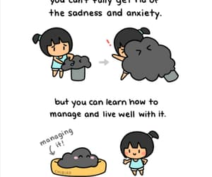 anxiety, gif, and motivation image