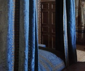 bed, ravenclaw, and bedroom image