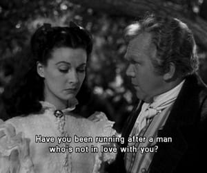 Gone with the Wind, love, and sad image