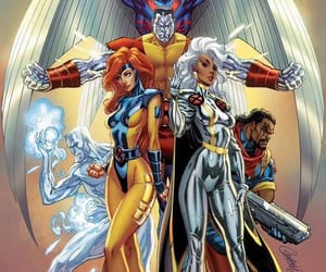 colossus, Marvel, and storm image