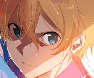 anime, anime boy, and eugeo image