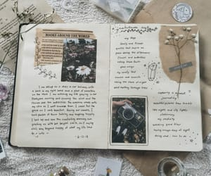 creativity, diary, and journal image