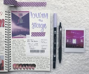 journal, weekly spread, and journaling image