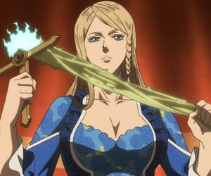 anime, anime girl, and black clover image