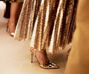 fashion, gold, and ralph lauren image