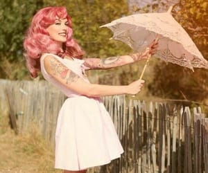 girly, pink, and summer time image