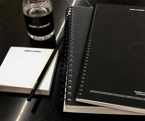 black and notebook image