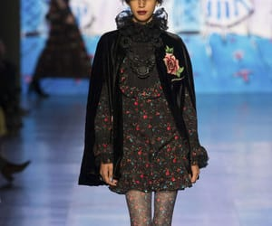 Anna Sui, fall winter 2017, and art image